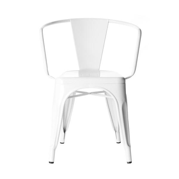 Krzesło  Vintage Industrial White