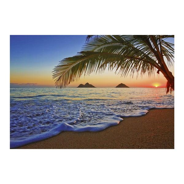 Wielkoformatowa tapeta Wschód słońca na Pacyfiku, 366x254 cm
