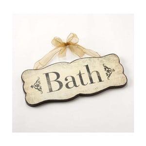 Vintage tablica Bath
