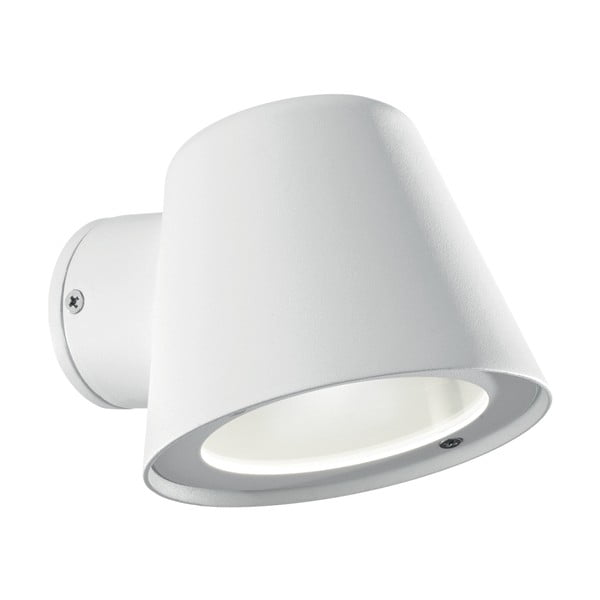 Biały kinkiet ogrodowy Evergreen Lights Modern White