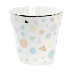 Kubek ceramiczny Miss Étoile Confetti, wąski