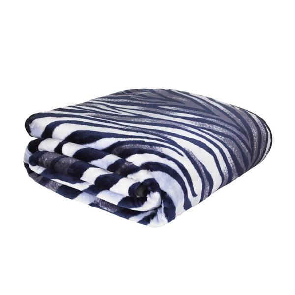 Koc Zebra Raschel, 200x240 cm