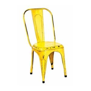 Zestaw 4 żółtych krzeseł 13Casa Industry