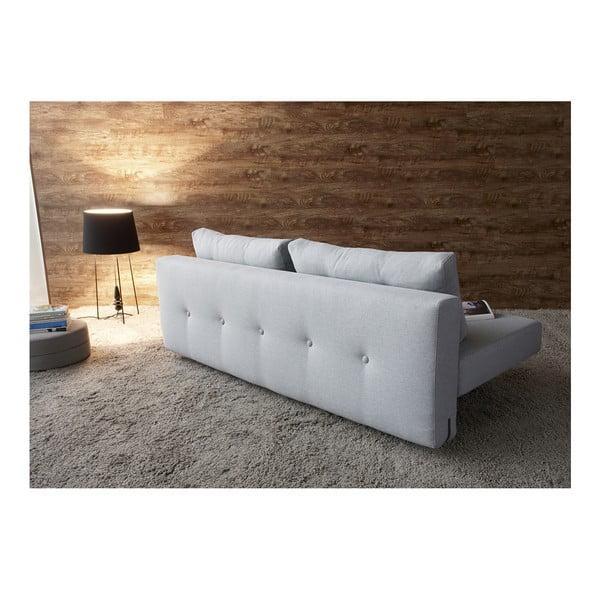 Jasnoszara sofa rozkładana Innovation Recast