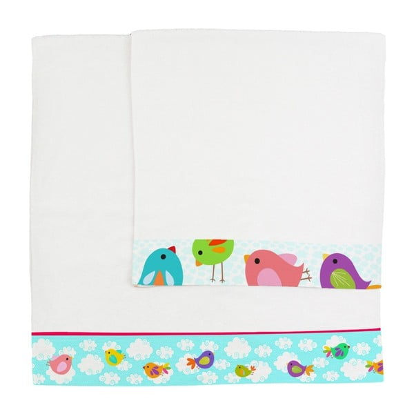 Komplet 2 ręczników Little W Happy Spring