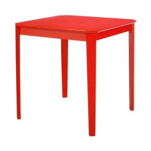 Czerwony stół do jadalni Støraa Trento, 76x75cm