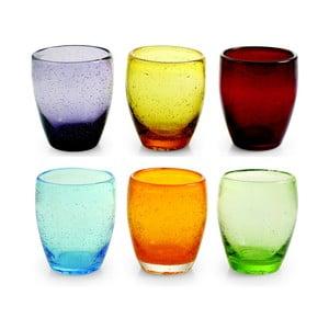 Komplet 6 szklanek Villa d'Este Rainbow