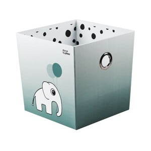 Pudełko Happy Dots, niebieskie