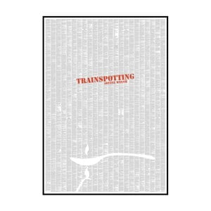 "Plakat ""Trainspotting"", 70x100 cm"