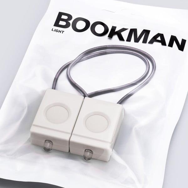 Białe światełko Bookman