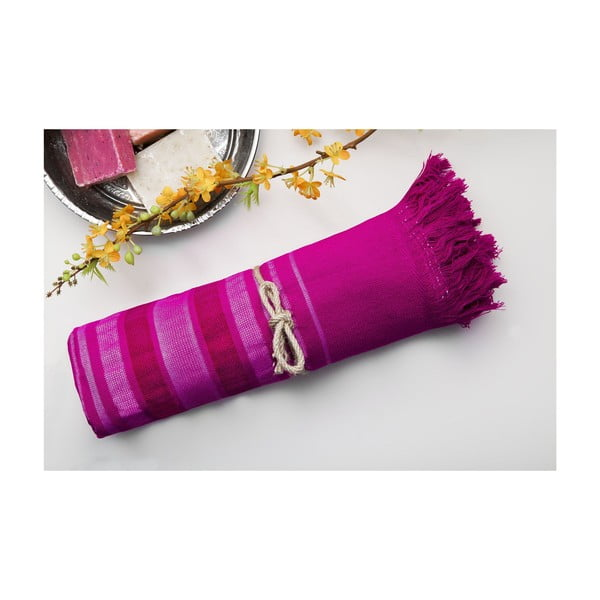 Ręcznik hamam Cotton Loincloth Violet One, 75x170 cm