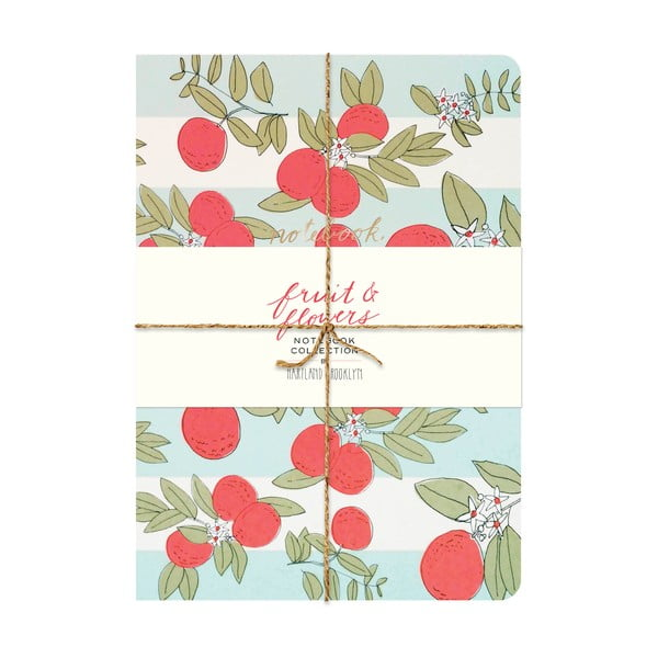 Notatnik Chronicle Books Fruit & Flowers Notebook
