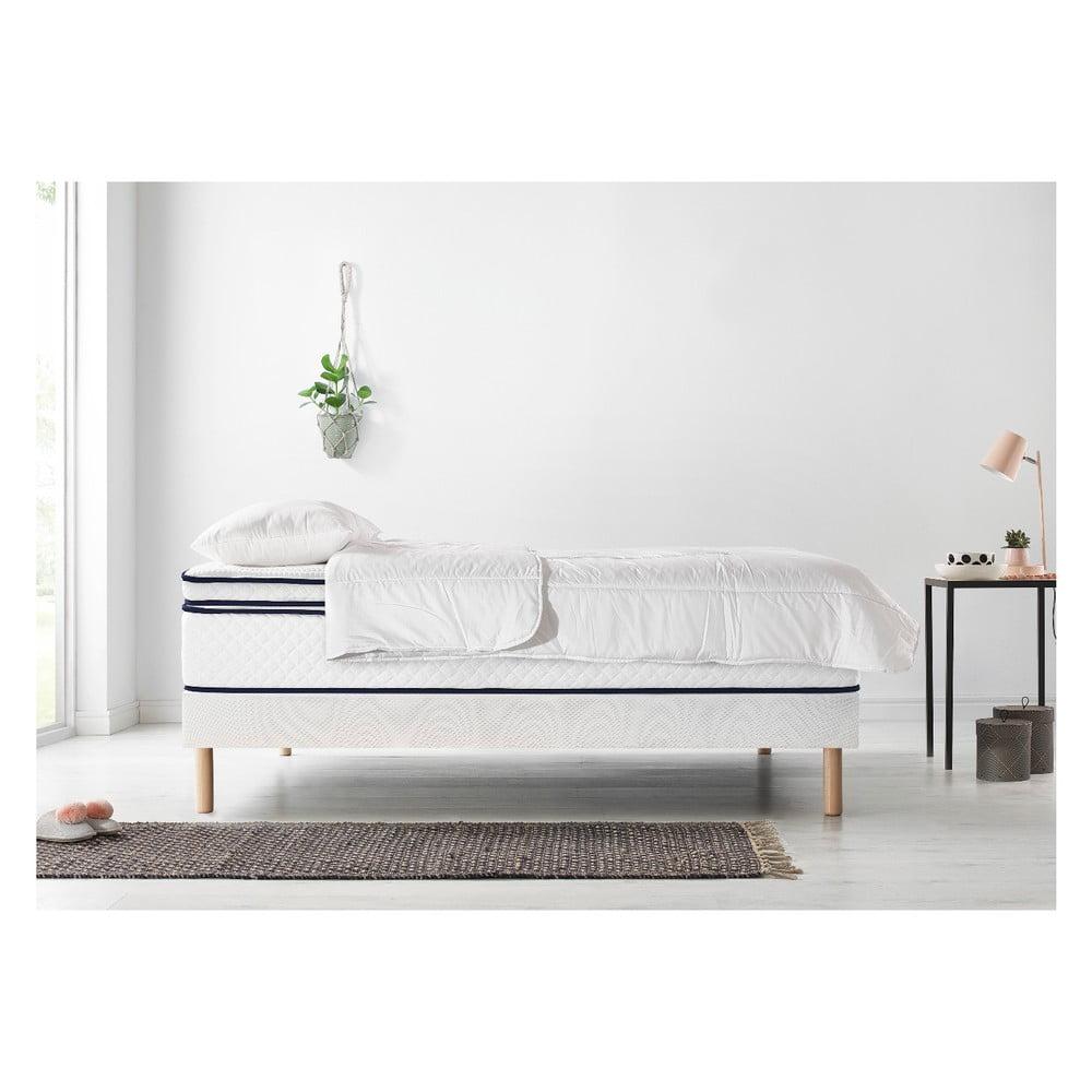 Komplet łóżka 2 Osobowego Materaca I Kołdry Bobochic Paris Simeo 90x200 Cm 90x200 Cm Bonami
