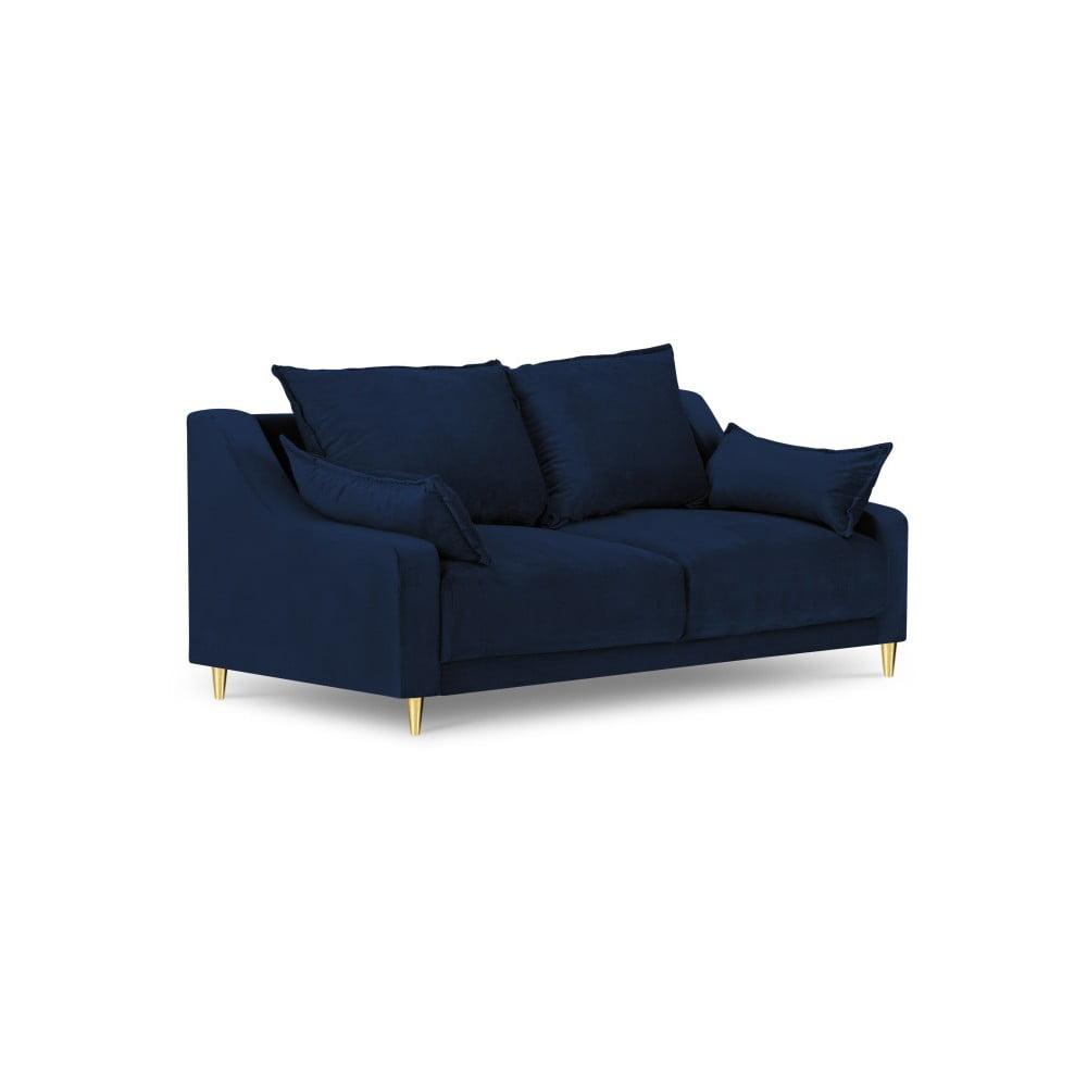 Niebieska sofa 2-osobowa Mazzini Sofas Pansy