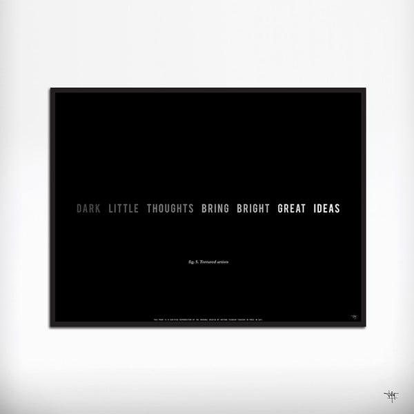 Plakat Dark Little Thouhgts