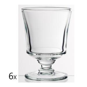 Zestaw 6 szklanek Jacques, 210 ml