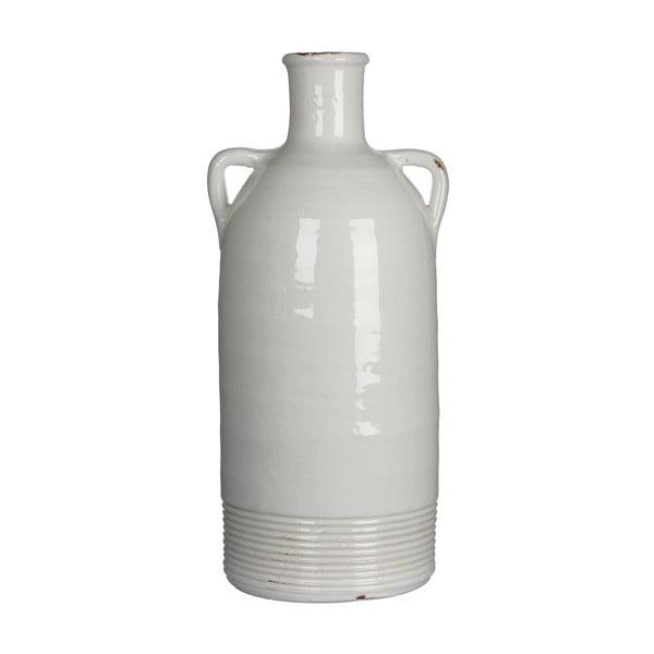 Wazon ceramiczny Sil White, 34x15 cm
