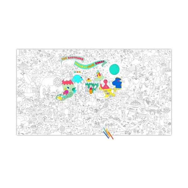 Kolorowanka Jeff Koons, XXL