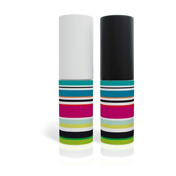 Młynki do pieprzu i soli Colour Stripes