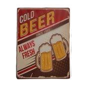 Tablica na ścianę Novita Cold Beer