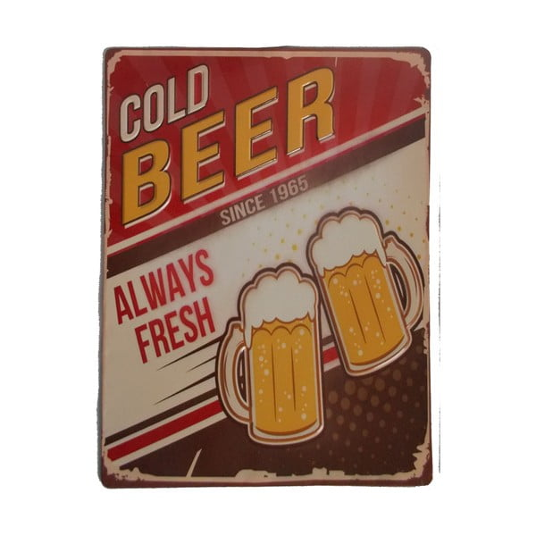 Tablica na ścianę Novita Cold Beer