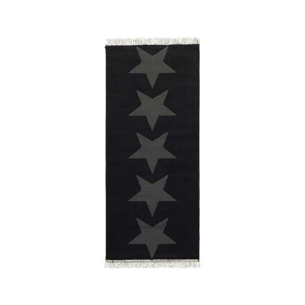 Szary dywan Hanse Home Stars, 80x200 cm