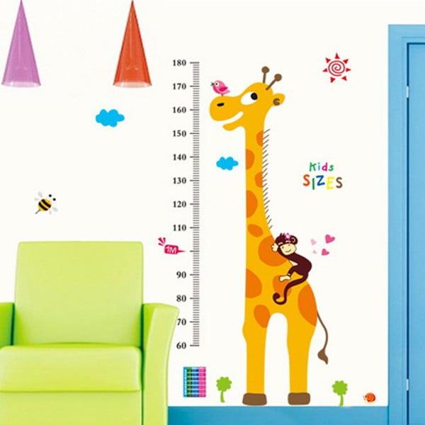 Naklejka dekoracyjna Meter Giraffe