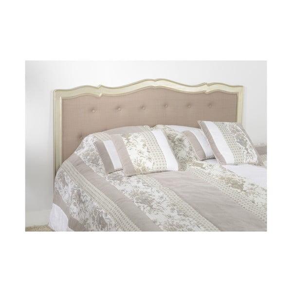 Wezgłowie łóżka Murano Silver, 164 cm