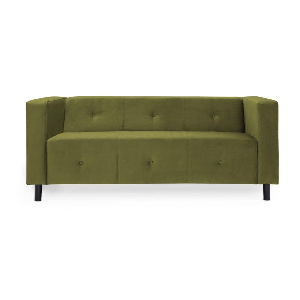 Oliwkowa sofa 3-osobowa Vivonita Milo