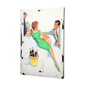 Obraz Retro Couple, 50x70 cm