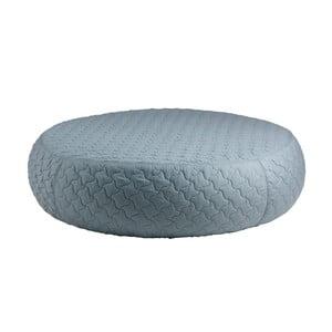 Niebieski puf sømcasa Aldo, ⌀ 100 cm