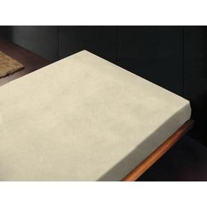 Prześcieradło Lisos Crema, 180x260 cm