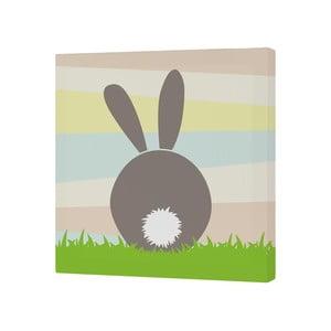 Obraz Little W Little Rabbits B, 27x27 cm