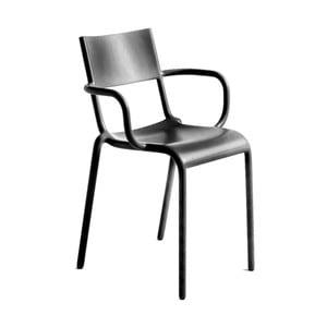 Czarne krzesło Kartell Generic Age