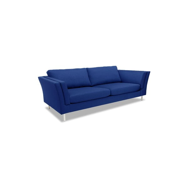 Niebieska sofa trzyosobowa VIVONITA Connor