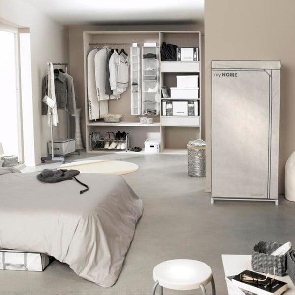 Biała szafa tekstylna Compactor Wardrobe X1