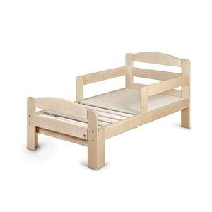 Łóżko drewniane rosnące z dzieckiem YappyKids Grow, 140-190x70 cm