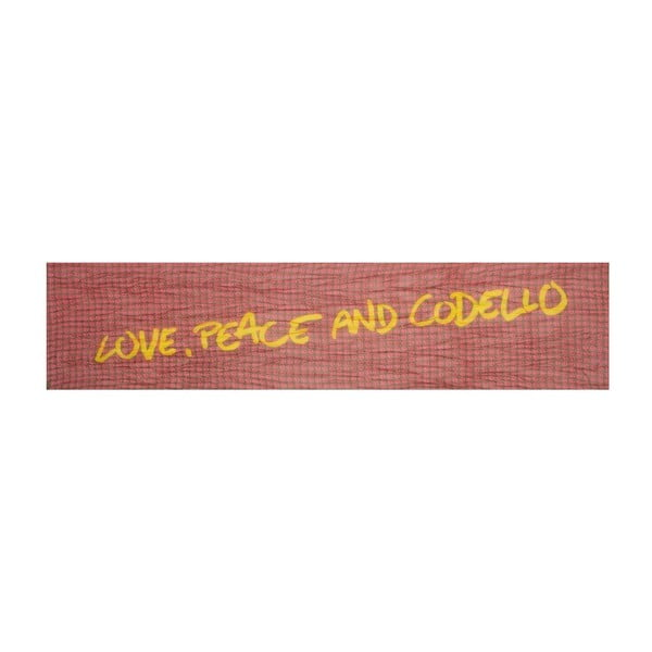 Szal Poetry Grunge Peace Red
