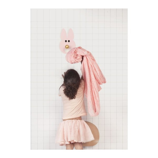 Wieszak Happy Rabbit Pink