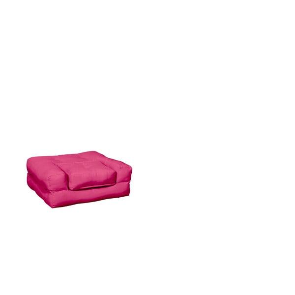 Fotel dziecięcy Karup Baby Cube Magenta
