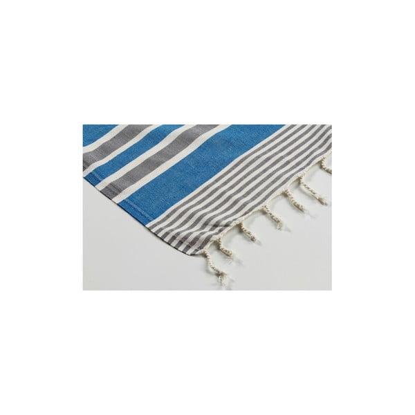Ręcznik hammam Sunset Blue, 100x180 cm