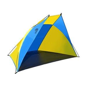 Żółto-niebieski namiot plażowy Cattara Split