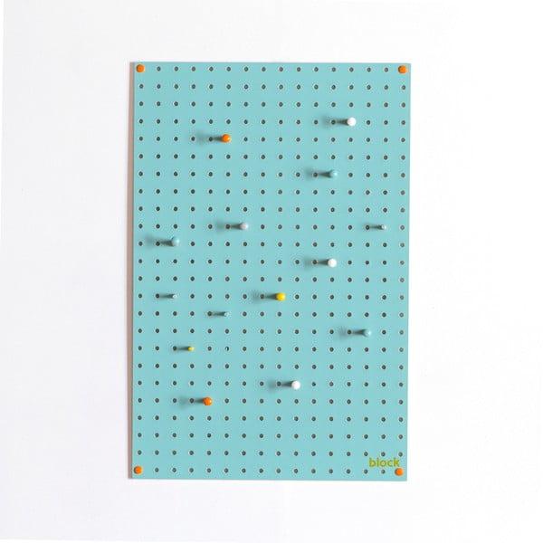 Wielofunkcyjna tablica Pegboard 40x61 cm, niebieska
