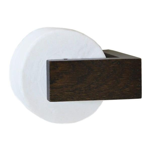 Uchwyt na papier toaletowy Wireworks Mezza Dark