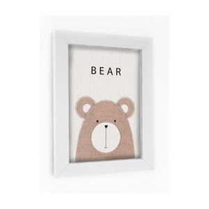 Obraz w ramie Bear
