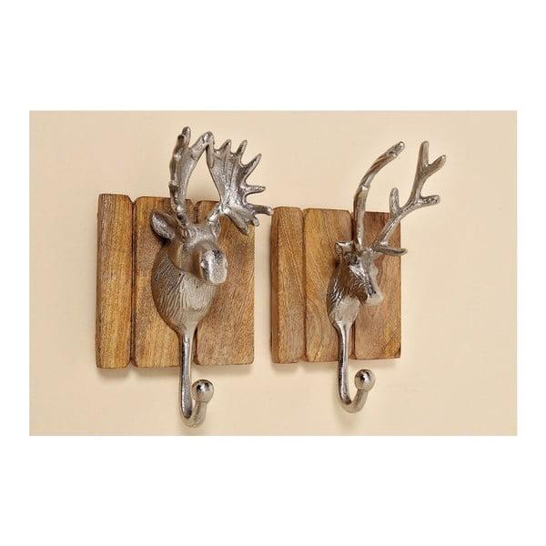 Zestaw 2 haczyków Hirsh Deer