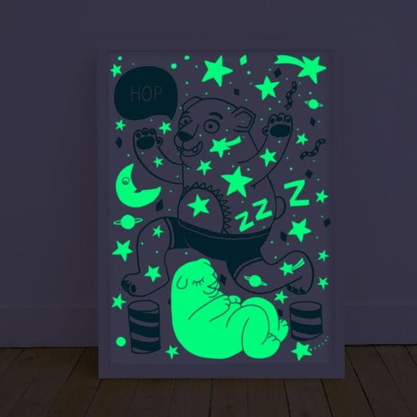 Fluorescencyjny plakat Orso