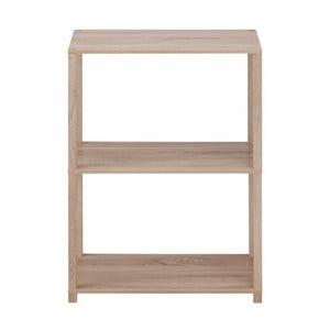 Regał drewniany z 3 półkami Støraa Damien