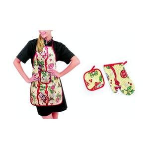 Fartuszek, rękawica i łapka kuchenna Campanella