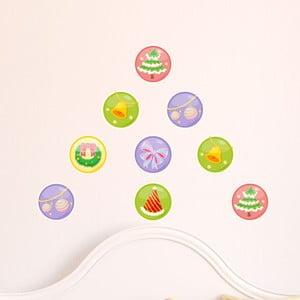 Naklejki Christmas Balls